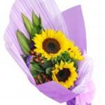 Hand Bouquet Bunga Matahari