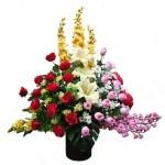 Dekorasi Kantor Dan Hotel Dengan Bunga Artifisial