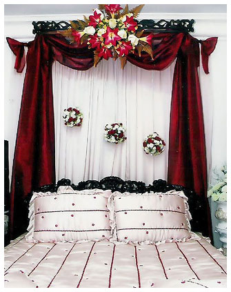Tips Menghias Dekorasi Kamar Pengantin Dengan Rangkaian Bunga Segar