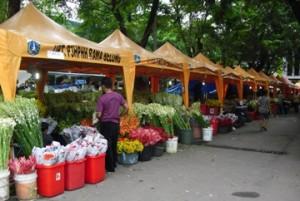 pasar bunga segar rawa belong