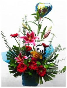 bingkisan-bunga-kelahiran-bayi-laki-laki