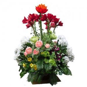 bunga-artificial-centerpieces-pernikahan