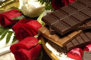 bunga dan coklat