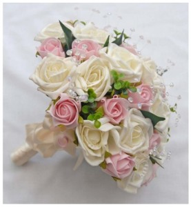 hand bouquet pengantin artificial
