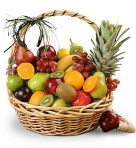 keranjang parcel buah segar