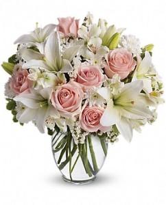 rangkaian-vas-bunga-simpati-mawar-pink-lili-putih