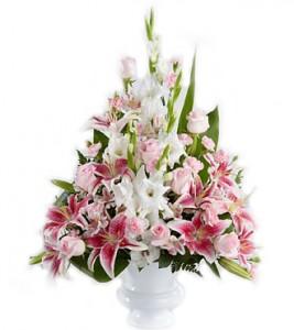 vas-bunga-duka-cita-lily-pink-putih