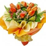 Arti Dan Makna Bunga Tulip dan Gerbera Warna Orange