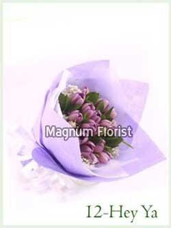 Buket Bunga Tangan 12-Hey Ya