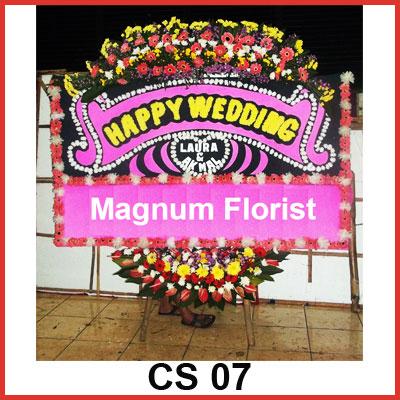 Karangan Bunga Papan Selamat CS 07