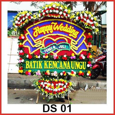 Karangan Bunga Papan Selamat DS 01