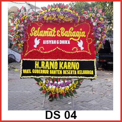 Karangan Bunga Papan Selamat CS 04