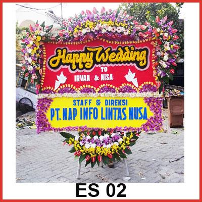 Karangan Bunga Papan Selamat ES 02