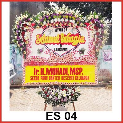 Karangan Bunga Papan Selamat ES 04