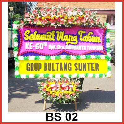 Karangan Bunga Papan Selamat BS 02