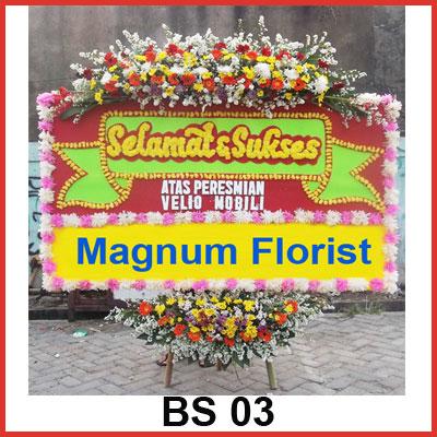 Karangan Bunga Papan Selamat BS 03