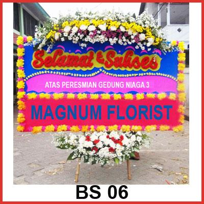 Karangan Bunga Papan Selamat BS 06