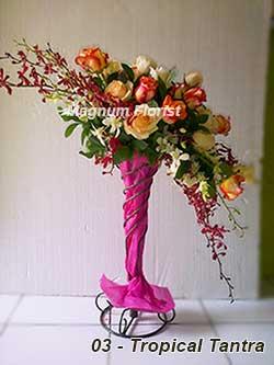 Buket Bunga Meja 03 Tropical Tantra