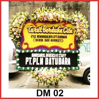 Karangan Bunga Papan Duka DM 02