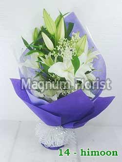 Buket Bunga Tangan 14-Himoon