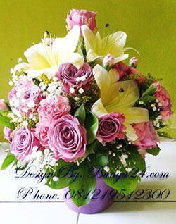 Bunga Mawar Ungu Segar Kirim Ke Rumah Sakit Pondok Indah