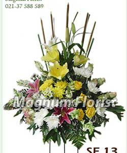 Karangan bunga standing SF 13