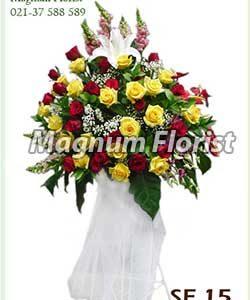 Karangan bunga standing SF 15