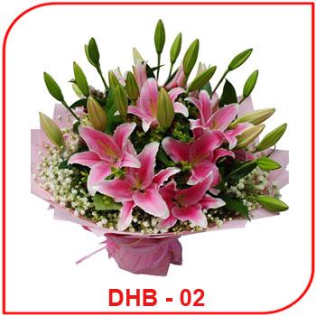 Buket Bunga Ulang Tahun DHB - 02