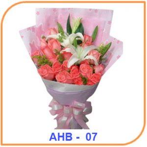 Buket Bunga Ulang Tahun AHB - 07