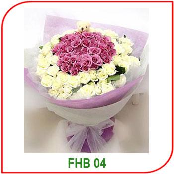Buket Bunga Ulang Tahun FBH - 04