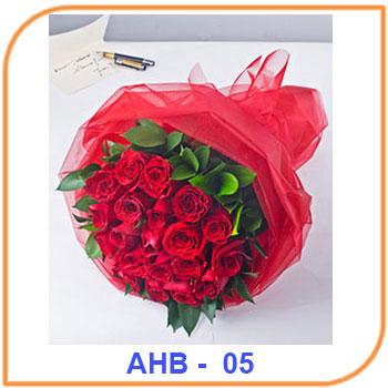 Bunga Mawar Merah Ulang Tahub AHB-05