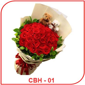 Buket Bunga Ulang Tahun CBH - 01