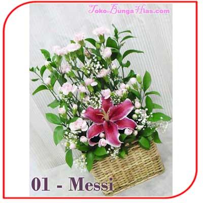 Buket Bunga Meja 03 - Messi