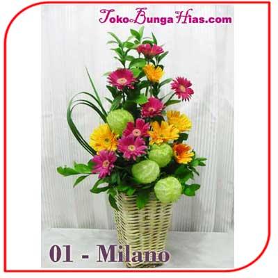 Buket Bunga Meja 01 Milano