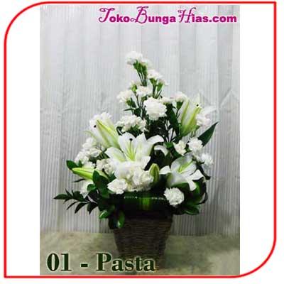 Buket Bunga Meja 01-Pasta