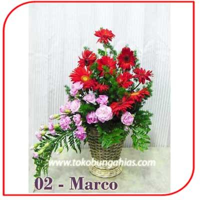Buket Bunga Meja 02 - Marco