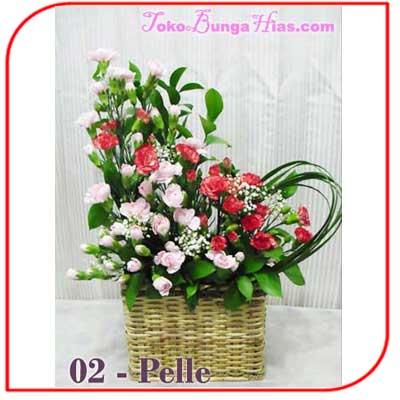 Buket Bunga Meja 04-Pelle