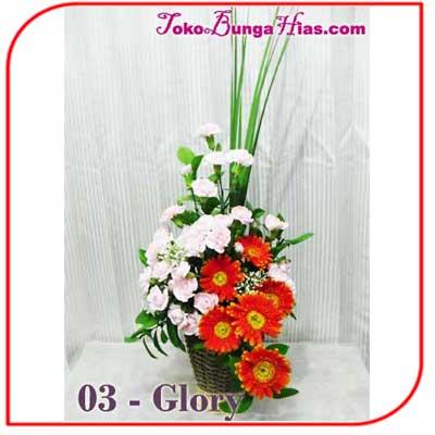 Buket Bunga Meja 03-Glory