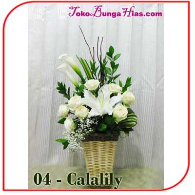 Buket Bunga Meja 04-Calalily