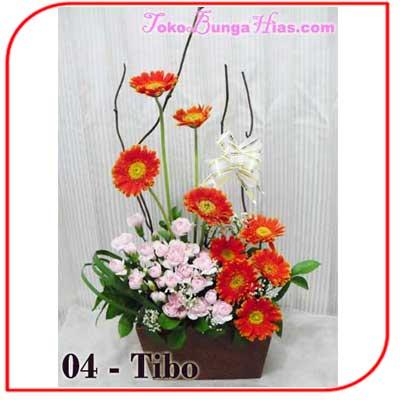 Buket Bunga Meja 04-Tibo