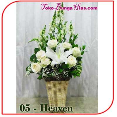 Buket Bunga Meja 05-Heaven
