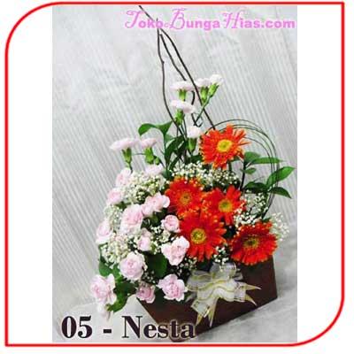 Buket Bunga Meja 05-Nesta