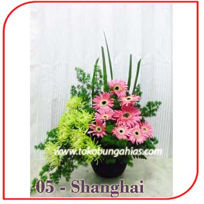 Buket Bunga Meja 05-Shanghai