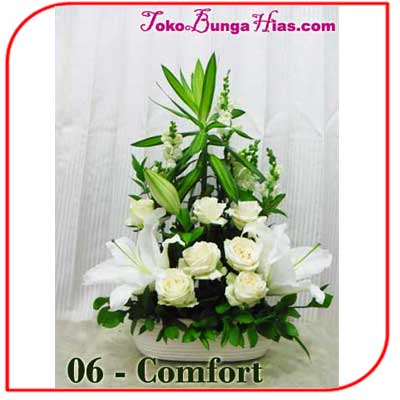 Buket Bunga Meja 06-Comfort