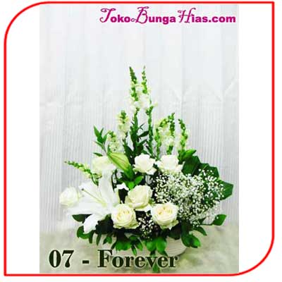 Buket Bunga Meja 07-Forever