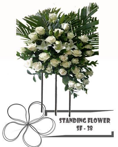 Karangan-Bunga-Mawar-Putih-SF-38