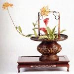 seni merangkai bunga china