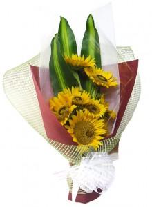 buket-bunga-matahari