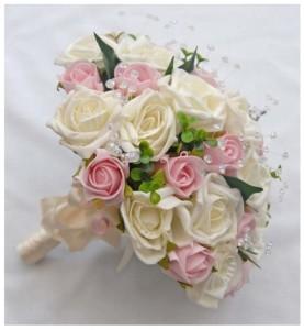 hand bouquet pengantin artificial
