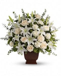 Rangkaian-bunga-duka-cita-lily-mawar-putih